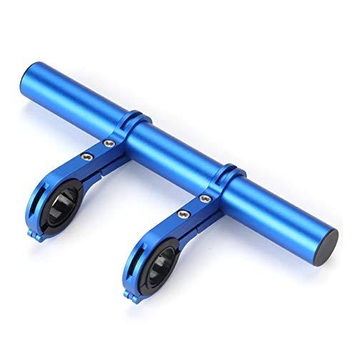 Extensión de bicicleta, multifunción, doble manillar, aleación de aluminio, soporte de linterna, accesorio para bicicleta con llave Allen para velocímetro