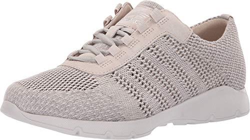 Dansko Women's Adrianne Sneaker, Ivory Washed Knit, 41 M EU (10.5-11 US)