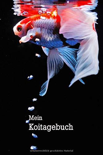 Mein Koitagebuch: Notizbuch mit 120 linierten Seiten für alle, die Kois mögen und Aufzeichnungen anfertigen.
