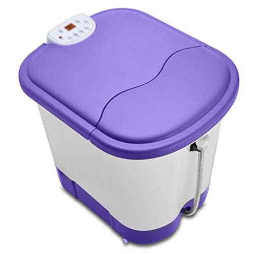 Barir Fußbad automatische Pediküre Fußbad Fußbad Haushalt Fass konstante Temperatur hoch Tiefe Fassblase Massage elektrische