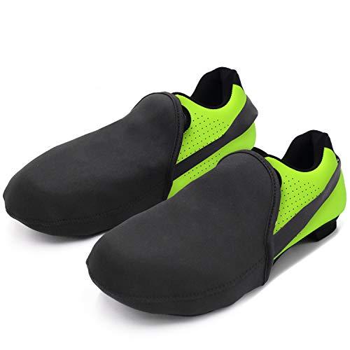 SWISSWELL Cycling Shoe Covers (B-Black,7.5 Women/5.5 Men)