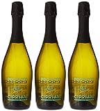Cipriani, Prosecco Doc Brut - 3 Paquetes de 750 ml - Total: 2250 ml