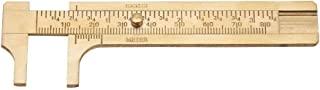 مسطرة فرجار فارنيير منزلق أداة قياس المسطرة (المقياس المزدوج 80 مم)