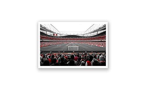 ArtsyCanvas Arsenal - Emirates (18x10 Poster)