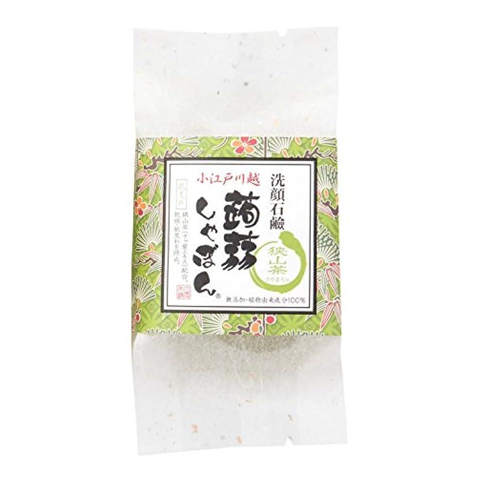 通常知事老人川越蒟蒻しゃぼん狭山茶(さやまちゃ)
