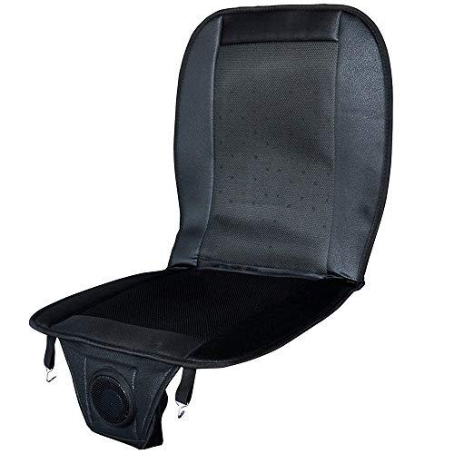 UPstore カークールシート シートファン 椅子に乗せるだけ 強力ファンで涼しい空気を送る 背中/座面 のムレを快症