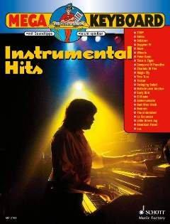 MEGA KEYBOARD - INSTRUMENTAL HITS - arrangiert für Keyboard [Noten / Sheetmusic]