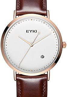 EYKI Dress Watch For Men Analog Leather - E1102L