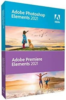 Adobe Photoshop Elements 2021 Premiere Elements 2021 PC Mac Disc product image
