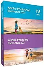 Adobe Photoshop Elements 2021 & Premiere Elements 2021 | PC/Mac Disc