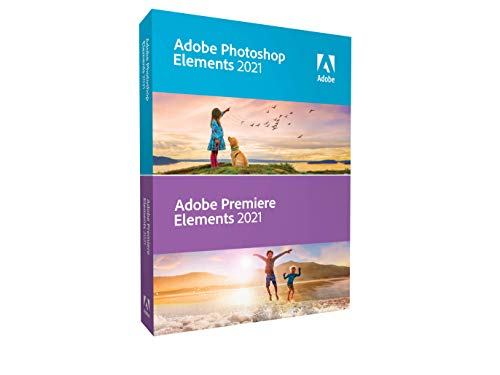 Adobe Photoshop Elements 2021 & Premiere Elements 2021 [PC/Mac Disc]