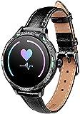 NCHEOI SmartWatch Moda M9 Reloj Inteligente Período fisiológico Femenino Recordatorio IP68 Impermeable Deportes Tarifa cardíaca Blood Aptitud Pulsera...