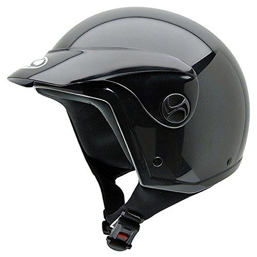 Casco de moto black peak