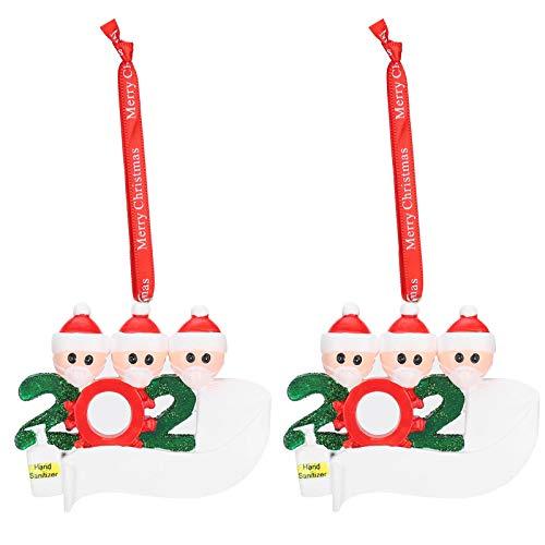 Jingyi Hochwertige einzigartige personalisierte Weihnachtsverzierung, 2020 Weihnachtsverzierung, für Türgeschenk-Weihnachtsbaumhaken