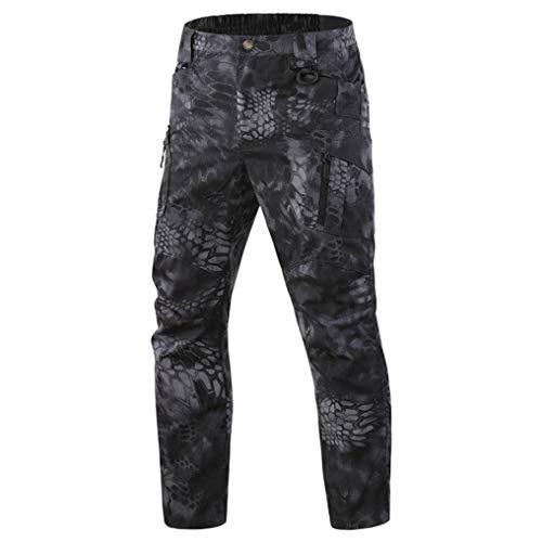 Pantalon Tactique pour Hommes Respirant Mince RéSistant à l'usure Formation Masculine Escalade RandonnéE Pantalon De Sport en Plein Air