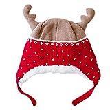 47-B Sombrero, Navidad Invierno PROTECCIÓN Caliente CUANTA, Capa DE Decoración De Navidad De Esquinas De Punto (Color : Blue, Size : Small)
