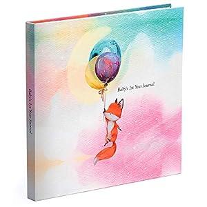 Pillow & Toast Baby Memory Book and Photo Album, Modern Newborn Journal – Baby Memory Book – Baby Keepsake –
