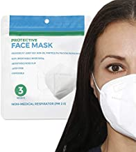 Cone Shape Disposable Face Mask, Pack of 3 Non Medical Respirator Protection Face Masks