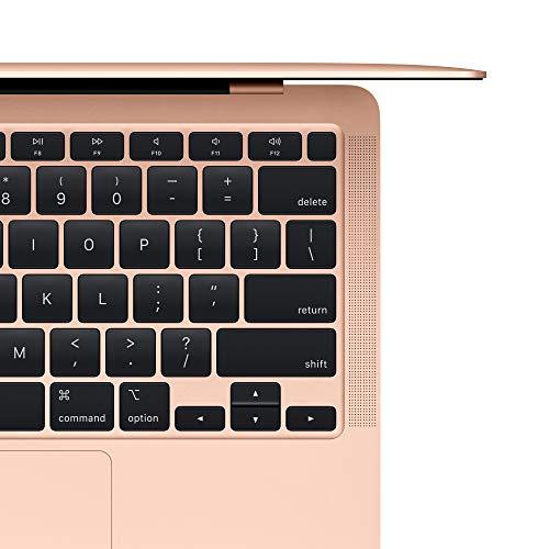 2020 Apple MacBook Air (13.3-inch/33.78 cm, Apple M1 chip with 8‑core CPU and 7‑core GPU, 8GB RAM, 256GB SSD) - Gold
