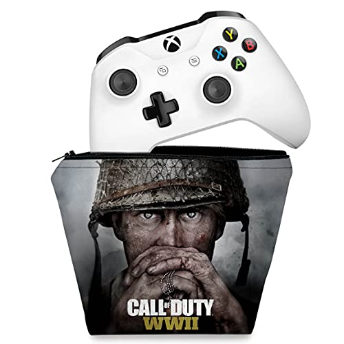 Capa Xbox One Controle Case - Call Of Duty Ww2