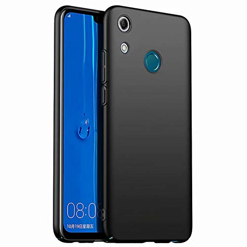 Ttimao Funda Xiaomi Redmi Note 8 Diseño Simple Ultra Delgada PC Hard Shell Anti-Caída Anti-Scratch Anti-Shock Cubierta Superficie Mate Funda Protectora-Negro