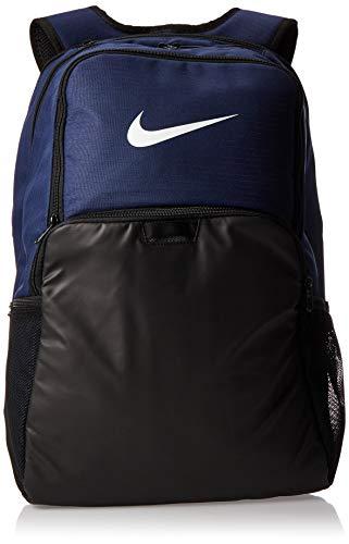 NIKE Brasilia XLarge Backpack 9.0, Midnight Navy/Black/White, Misc
