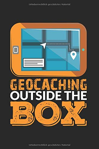 Skizzenbuch GEOCACHING OUTSIDE THE BOX: Geocaching I Zeichenblock I 100 Seiten