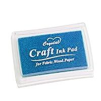Aibecy カラフルな工芸品インクパッドスタンプゴムスタンプパッドDIY Scrapbookingフィンガーペイントスタンプのための指紋インクパッド紙の木製ファブリック1#
