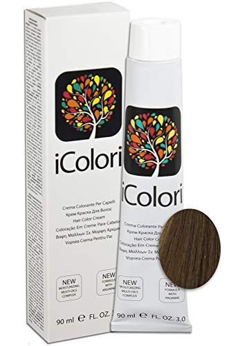 iColori - Crema Colorante Per Capelli 90 ml - No. 8.32 Biondo Chiaro Beige