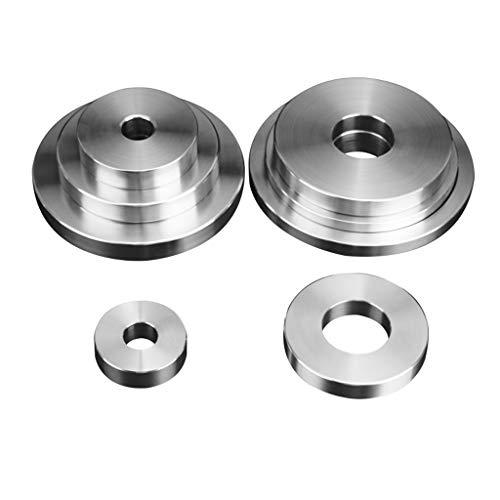 Xushi Edelstahl Gewicht Platte, Innenbohrung 25 mm und 50 mm, Home Fitness, Fitnessgeräte, Multiple Spezifikationen (Color : 0.5kg Inner Hole 25mm)