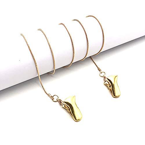Cadena de cordón para máscara con nombre, soporte personalizado para cadena de mascarilla, cadena de mascarilla alrededor cuello, alivia la presión del oído, regalos de joyería de Navidad para mujeres