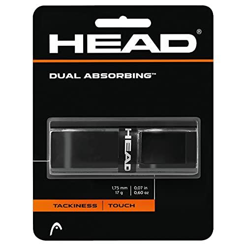 Head Dual Absorbing Grip, Unisex, Negro, Talla Única