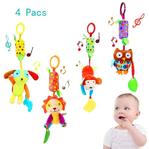 Baby Toy Soft Hanging Rattle Cri...