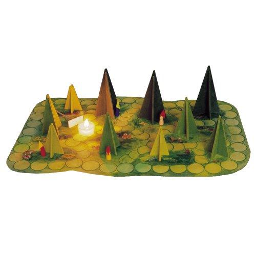 Märchenhaftes Waldschattenspiel von Kraul
