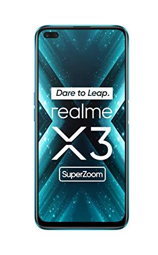 realme X3 Super Zoom - Smartphone12GB RAM + 256GB ROM, Dual Sim, Glacier Blue [Versión ES/PT]