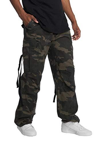Brandit M65 Vintage Pantalón Cargo de...