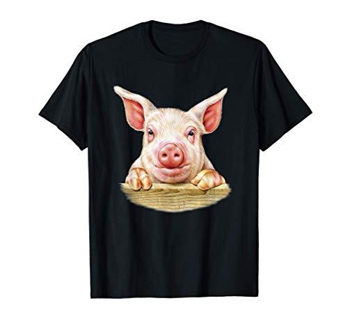 Granero de cerdos de cría de animales de granja Camiseta