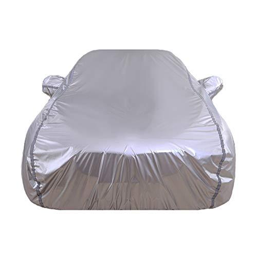 GAOQ-Car Cover Auto-Abdeckung Kompatibel mit Mercedes-Benz CLA-Klasse CLA180 CLA200 CLA220 CLA260 Allwetter Winddicht schneefest UV-Schutz im Freien Baumwolle gefüttert voller Auto-Abdeckung