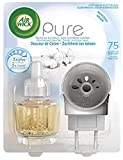 Air Wick - Diffusore elettrico puro e morbido di cotone, diffusore + ricariche