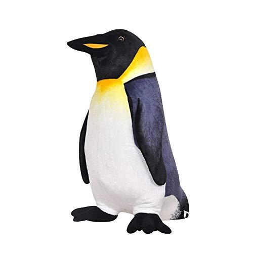 No marca 25 cm realista patrón de pingüino bebé juguetes de peluche juguetes de peluche de animal juguete regalo de cumpleaños para niños sofá cojín decoración, 25cm/10\