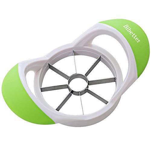 Bibetter Easy Grip Apple Corer Slicer-Divider-Cutter-Wedger, Ergonomic Rubber...