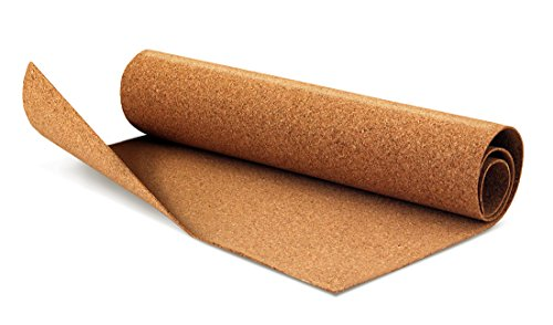 """Hygloss Products 2 mm Thick Cork Roll, 12"""" x 24"""", 1Roll"""