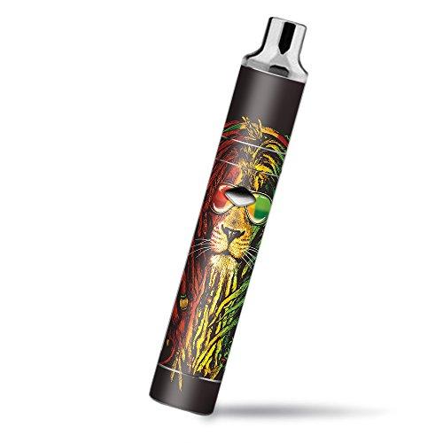 Skin Decal Vinyl Wrap for Yocan Magneto Pen Vape Mod Skins Stickers Cover / Rasta Dread Lion Irie