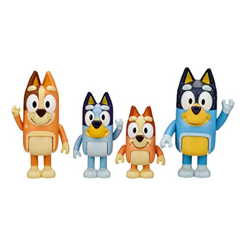 Bluey Family Figures - 4pk