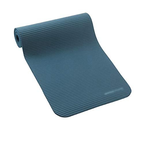 Estera de yoga Yoga Esteras de goma de nitrilo insípido plegable de ejercicio físico extra alfombra del piso 10 mm de espesor antideslizante de la danza de Pilates colchoneta de gimnasia Pad for gimna