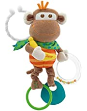 Chicco Multi Activity Vibrating Monkey Learning & Educational Toy [Multicolor ]