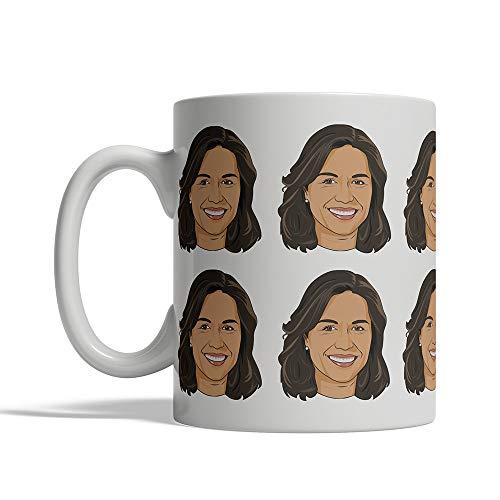 Tulsi Gabbard 12 koppen mok keramische koffie Cup Thee Cup 11oz president 2020