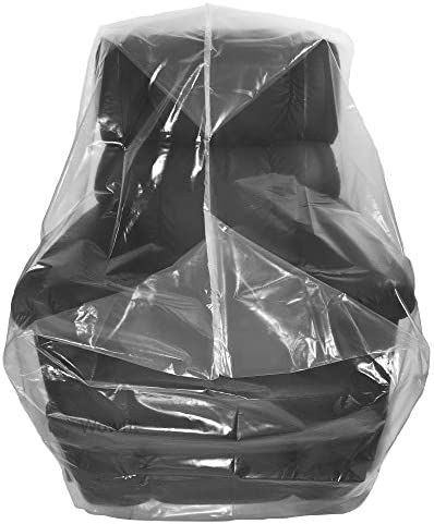 Best Wowfit Furniture Cover – Dust-Proof Moving Bag for Chairs, Recliners, Moving Boxes – Clear & Odo