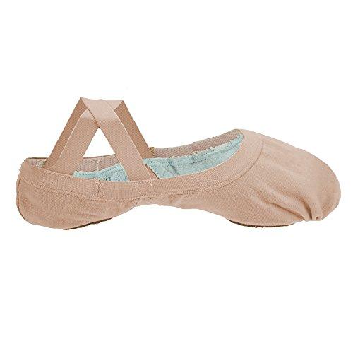 Bloch Pro Elastic Tanzschuhe für Damen, Pink - Rosa - Größe: 2 UK C Fitting