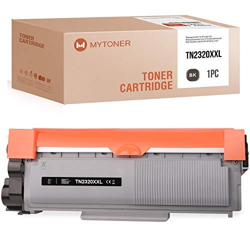 MYTONER - Toner compatibile con Brother TN-2320 TN2320 per Brother MFC-L2700dn MFC-L2700dw HL-L2340dw HL-L2365dw DCP-L2500d HL-L2300d DCP-L2540dn, 5.200 pagine